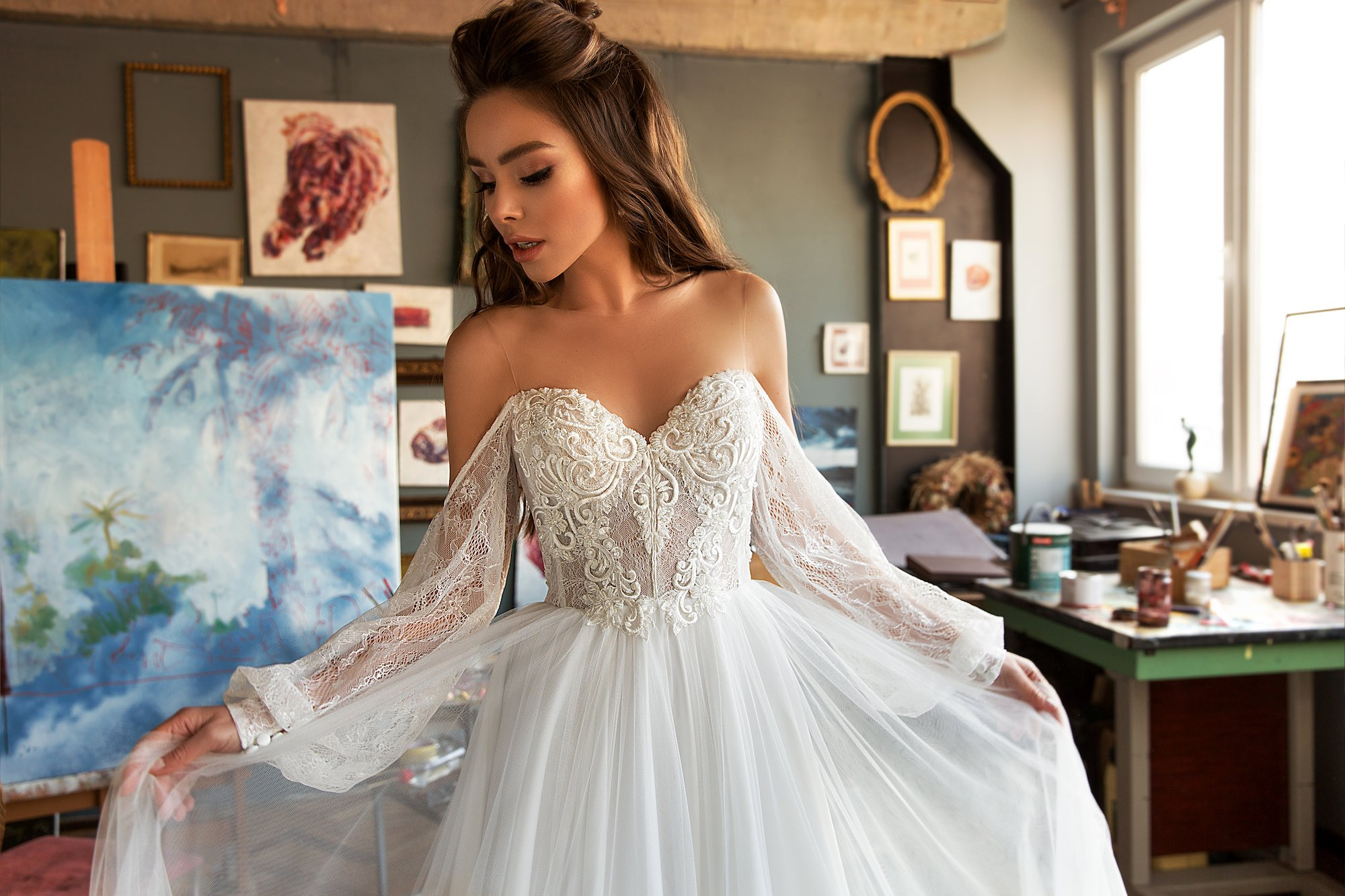 roxy wedding dress 2
